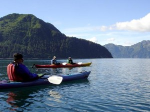 Kayaking Resurrection Bay